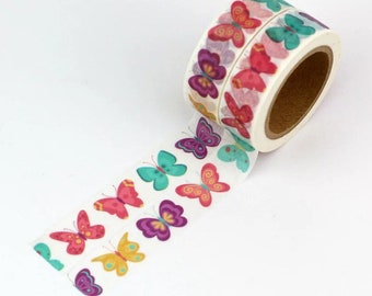 Butterfly washi tape, 10m