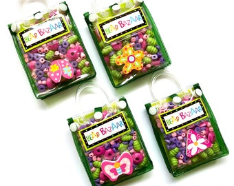 Jewellery Making Bead Bags, Nature theme