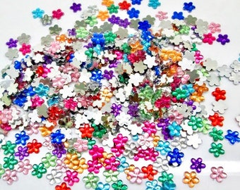 Flower embellishments, 6mm