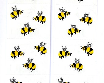 Bee sticker sheets