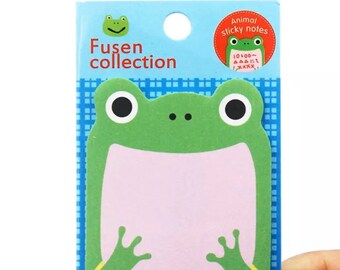 Frog sticky notes pad, mini memo pad