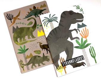 Dinosaur Notebook Set