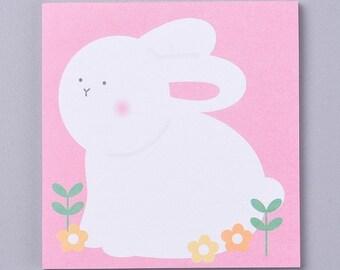 Rabbit memo pad