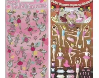 Ballerina Sticker Sheet Set