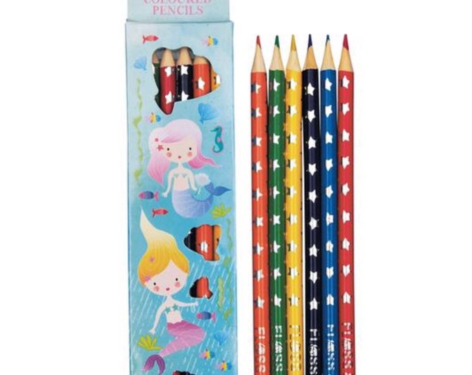 Featured listing image: Mermaid Colouring Pencils