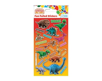Dinosaur Roar Sticker Sheet