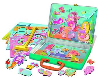 Mermaid Play Set, Magnetic mermaid toy