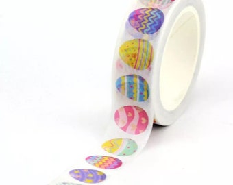 Easter washi tape roll, 10m