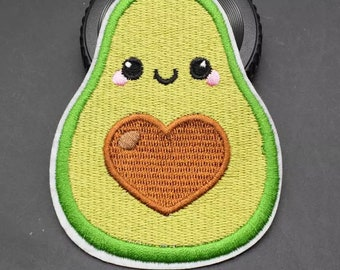 Avocado iron on patch 9cm