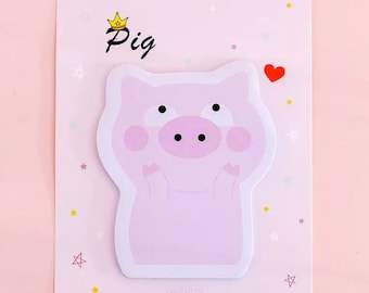 Pig sticky notes pad