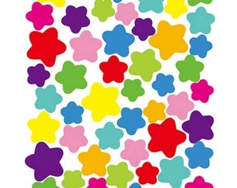 Star Sticker sheets, 3 sheets