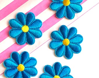 Blue flower patch
