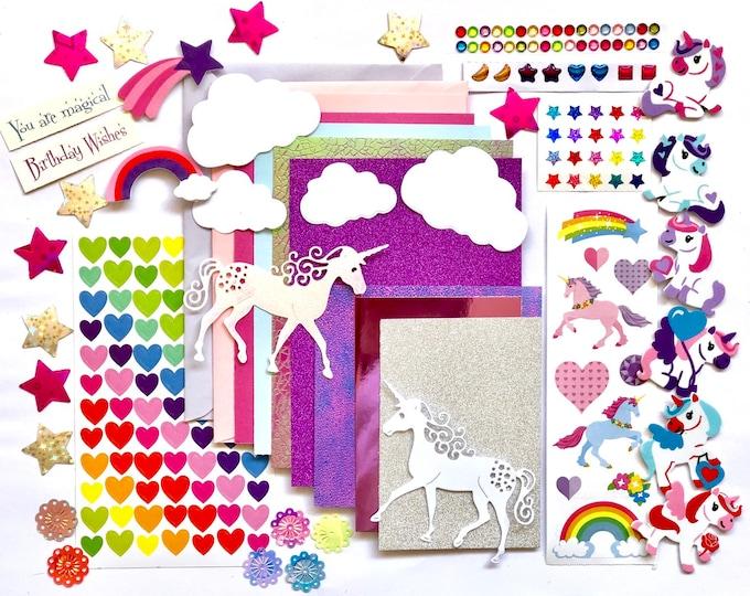 Featured listing image: Unicorn Card Making Kit