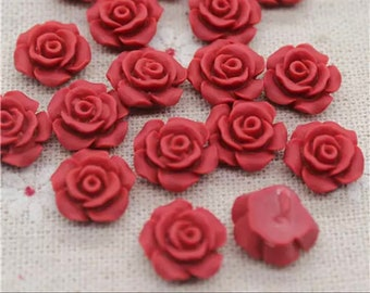 flower cabochons