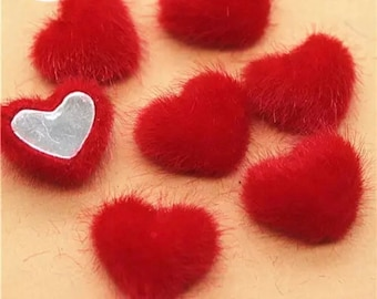 heart cabochons