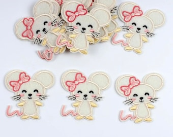 Mouse iron on patch,