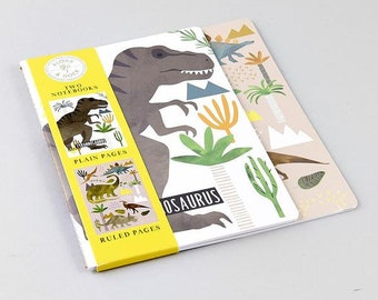 Dinosaur Notebooks Set of 2