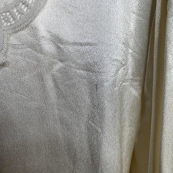 Vintage Gunne Sax Edwardian Silk Lace Blouse - image 5