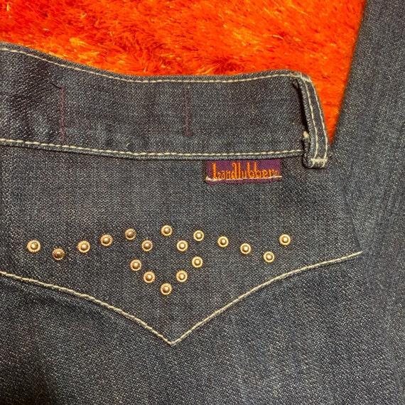 1970s 70s Landlubber Bellbottom Denim Jeans - image 4