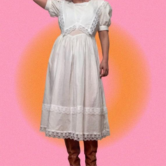 Jessica McClintock Dress, Gunne Sax Prairie Dress… - image 1