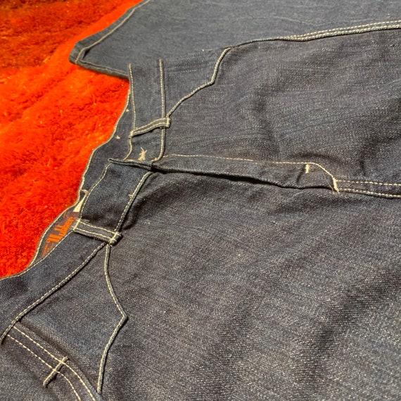 1970s 70s Landlubber Bellbottom Denim Jeans - image 7