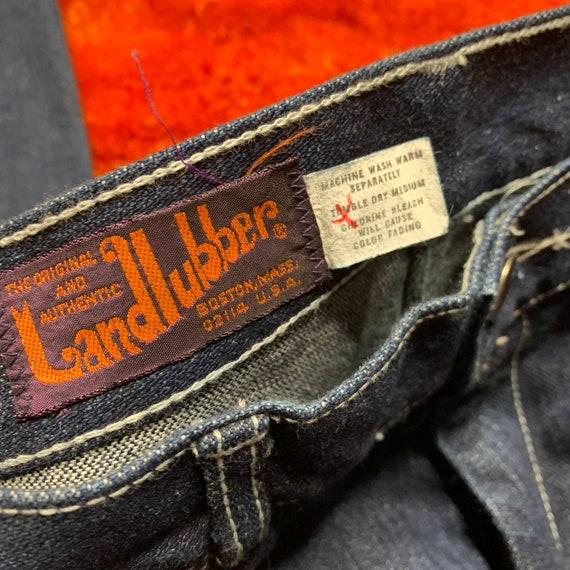 1970s 70s Landlubber Bellbottom Denim Jeans - image 6