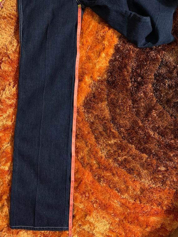 1970s 70s Landlubber Bellbottom Denim Jeans - image 9