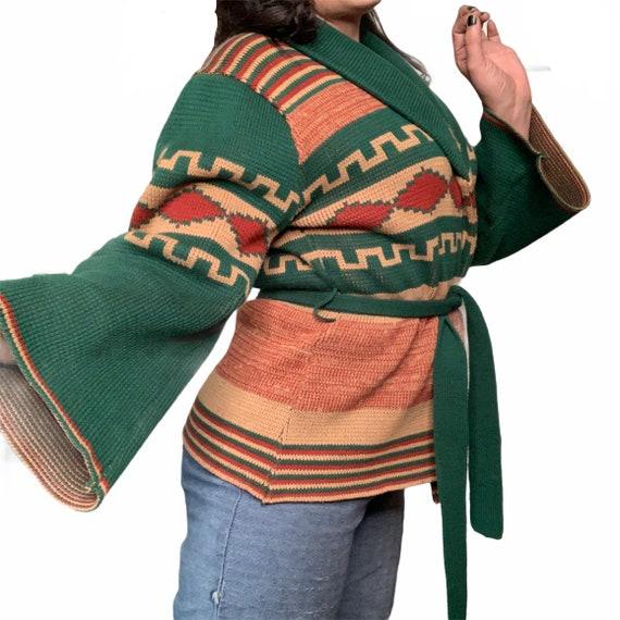 Vintage 70s Cardigan Sweater