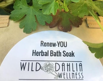 Renew-YOU Herbal Bath Soak
