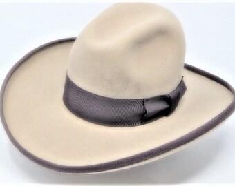 3b7aaa0d7 8X Royal Blue Western Cowboy Hat | Etsy