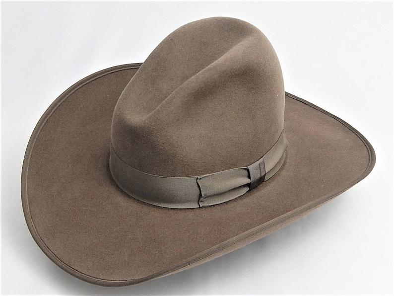 a3912bcae 8X Fur Felt Western Cowboy Hat with Gus Crease