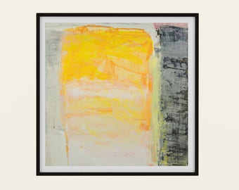 Risen - Abstract Print, Printable Digital Download, Modern Minimalist Artwork, Square 15 x15, 12x12, 8x8, 5x5