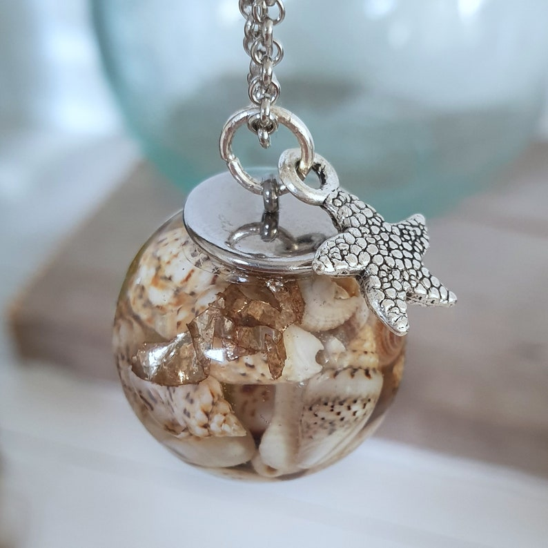 seashell necklace shell necklace beach jewelry necklace with seashells beach necklace