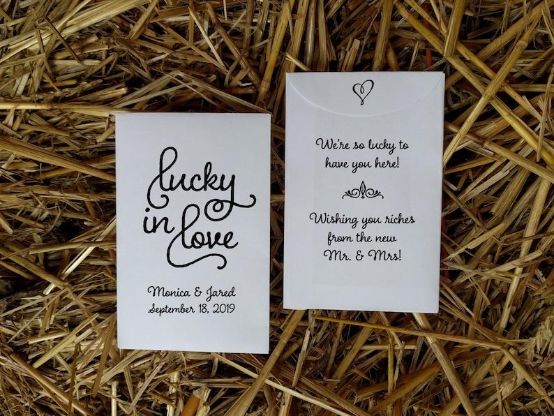 lottery ticket wedding favor holder lottery scratch card