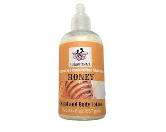 Honey lotion