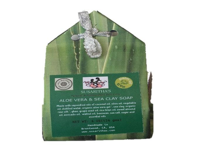 Aloe Vera and sea clay soap