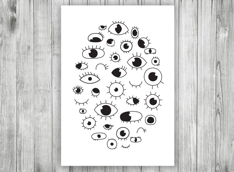 photograph regarding Eyes Printable identified as Eyes Printable, Minimalist Wall Decor, Kitchen area Wall Artwork, Eyelashes Print, Scandinavian Poster, Residing Place Printable, Eyes Poster