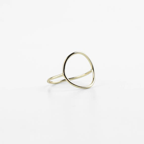 Recycled Silver Circle Ring