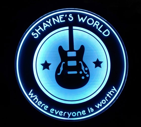 Custom Music Instrument Guitar Sign LED Wall Sign Neon Like - Color Changing Remote Control - 4 Sizes Made in USA Free Shipping