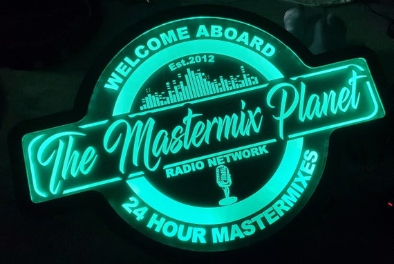 Custom Sign Sound Studio Music Instrument Band Led Wall Sign Neon Like - Color Changing Remote Control - 4 Sizes Free Shipping