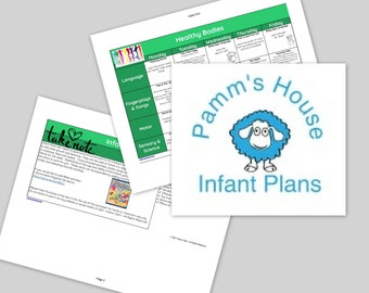 Healthy Bodies Printable Infant Lesson Plans For Baby - Learning Through Play