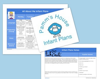 All About Me Printable Infant Lesson Plans For Baby - Learning Through Play