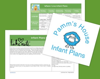 Where I Live Printable Infant Lesson Plans For Baby - Learning Through Play