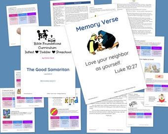 Good Samaritan Foundations Curriculum for Infants, Toddlers & Preschoolers, Bible Curriculum