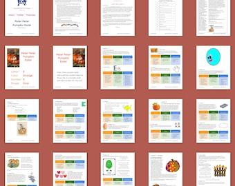Peter Peter Pumpkin Eater Foundations Curriculum for Infants, Toddlers & Preschoolers