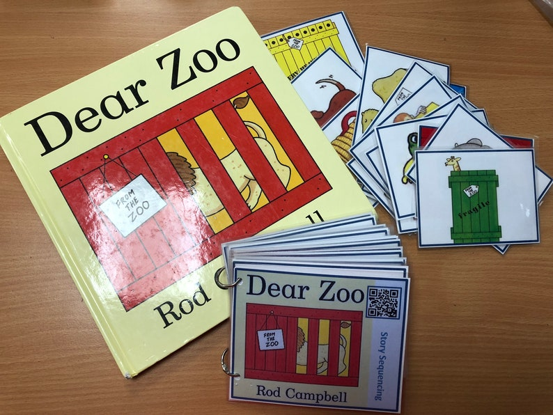 Dear Zoo Sequencing Book Listening Centre Workstation Home School Eal Send Eyfs Ks1 Ks2 Guided Reading