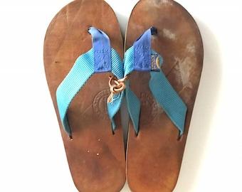 533a2ec10fe6 Vintage Rainbow Sandals~1970 s Sandals~1970 s Shoes~70 s Fashion~Retro  Bathing Suit~Vintage Surfboard~Wedge Sandals~Vintage Beachwear