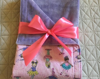 Sparkle Ballerina Cuddle Blanket