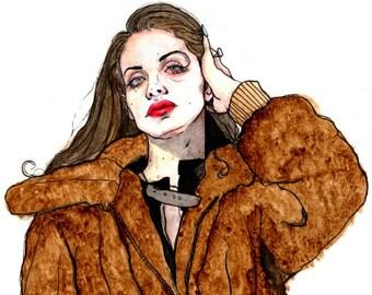 Lana Del Rey Print