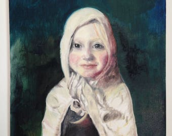 Oil paintings and portraits custom made